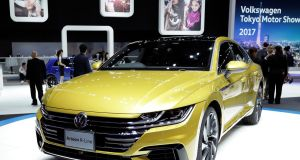 VW's new Arteon: the German car brand remains the best-selling marque on the Irish new car market