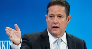 Jes Staley said the bank will relicense all of its branches in Europe so they become part of their Irish business. Photograph: Ruben Sprich/Reuters