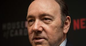 The cascade of allegations – which also include those of a filmmaker, Tony Montana, who says he was groped in an LA pub – is having an effect on Kevin Spacey professionally.  File photograph: Nicholas Kamm/AFP/Getty Images