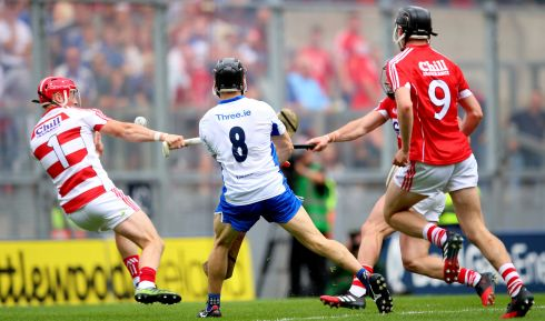 8 Jamie Barron (Waterford) - The indefatigable engine at the heart of the Waterford team. Revelled in the spaces that opened up when others tired in the Kilkenny and Cork games. Will surely go close for Hurler of the Year.