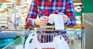 The key to good cooking is good shopping. And the key to good shopping is lists. Photograph: iStock