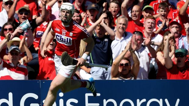 Cork's Patrick Horgan during the Munster semi-final win over Waterford. Photo: Tommy Dickson/Inpho