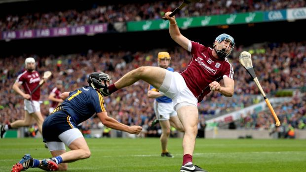 Conor Cooney goes past Tipperary goalkeeper Darren Gleeson during the All-Ireland semi-final. Photo: Ryan Byrne/Inpho