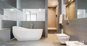 Merlyn Industries designs and makes shower enclosures. Photograph: iStock