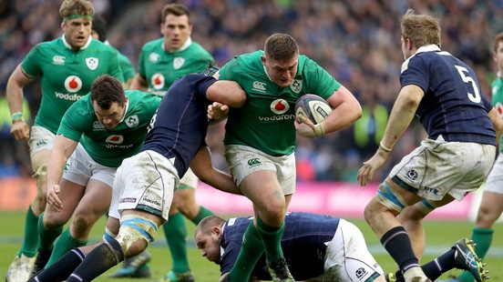 Ireland meet familiar foes Scotland in their opening World Cup fixture. Photograph: Dan Sheridan/Inpho