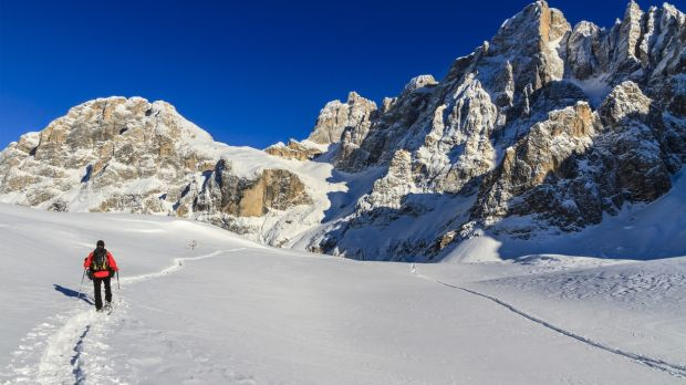 Snowshoeing in the Dolomites in Northern Italy from €620pps