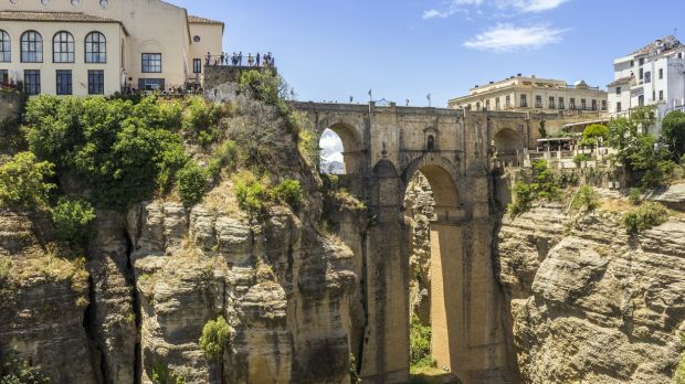 Visit the Parador at Ronda high in the Andalucian Hills