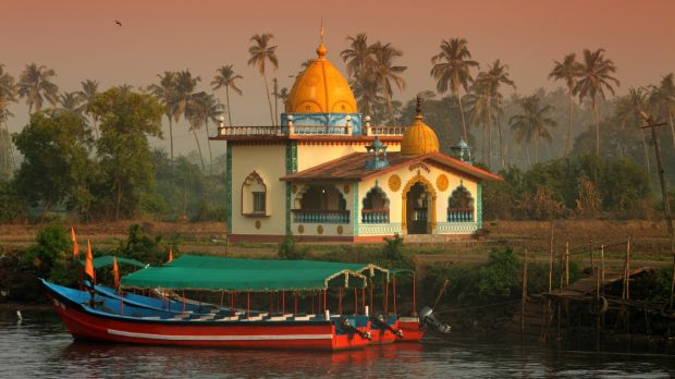 A Hindu Temple in Goa – return flights are €500 from Dublin