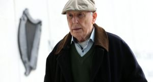 A jury has convicted retired surgeon Michael Shine of indecently assaulting two young male patients in a hospital in the mid-70s. Photograph: Collins Courts.
