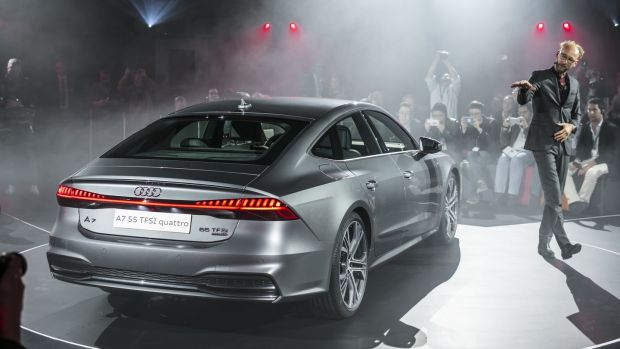 A7 Sportback: Marc Lichte, Audi's head of design, introduces the new model