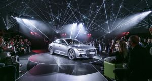 A7 Sportback: Audi launches its new model at its Ingolstadt headquarters