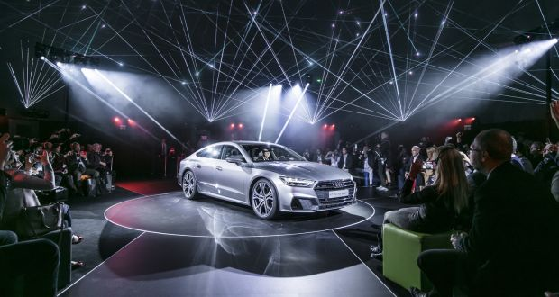 Audis New A Youll Be Opening And Closing It Just For The Light Show - Car light show