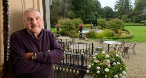 Tony Hanlon has been head gardener at Killashee House Hotel, Naas, Co Kildare,  for more than 30 years. Photograph: Dara Mac Dónaill / The Irish Times