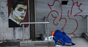 In a joint statement the charities asked that those who can afford to would forego the refund and would consider using the money to help Ireland's 8,000 homeless people, more than 3,000 of whom are children. Photograph: Cyril Byrne