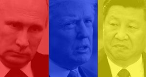 Vladimir Putin, Donald Trump and Xi Jinping: we may look back on 2017 as the phoney war