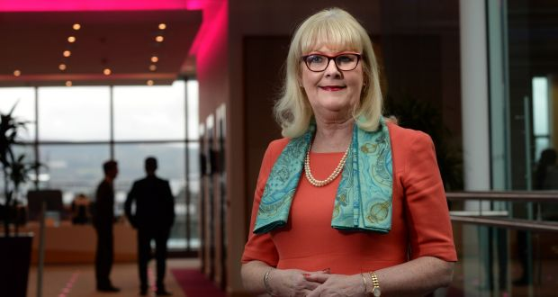 """Marie O'Connor: """"If women want to rise to the very top they need to put themselves in a position where they are taking responsibility for entire business units and not just restricting themselves to particular areas."""" Photograph: Dara Mac Dónaill"""