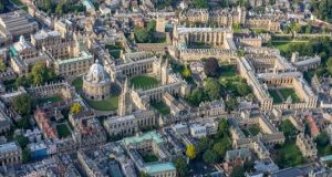 "Oxford  University. One sweet moment happened when a transgender woman said to me: ""I am so sorry. This is not Oxford."" Photograph: Getty Images"