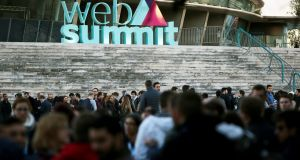 The Web Summit: in the sunshine of its new Lisbon home  – temperatures are expected to reach 21 degrees during the week –  an anticipated 60,000 people are set to attend the events.