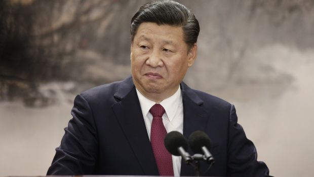Xi Jinping, China's president and general secretary of the Communist Party of China: his goal appears to be to overthrow the international order while pretending to be its protector. Photograph:Qilai Shen/Bloomberg
