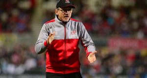 "Ulster coach Les Kiss: ""It's a very big unknown for us and we've got to be prepared for the unexpected."" Photograph: Inpho"