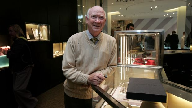 David Courtney at Tiffany & Co in Brown Thomas, Grafton Street, Dublin. Photograph: Eric Luke