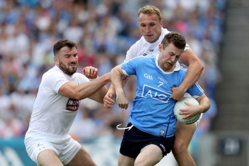 Jack McCaffrey (Dublin) His final was cut cruelly short but he was virtually unplayable up to then. Excellent against Tyrone, giving Dublin width and pace to beat the blanket. Second All Star. Photograph: Oisin Keniry/Inpho