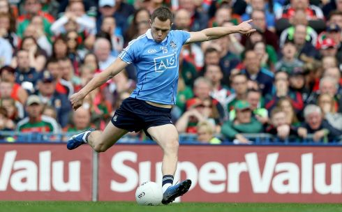 Dean Rock (Dublin) Four points from play in the final showed he was more than just a free-taker. He was that too, as his injury-time winner proved. Second award. Photograph: Tommy Dickson/Inpho
