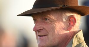 Willie Mullins is excited by the challenge ahead at Tuesday's Melbourne Cup. Photograph: Getty Images