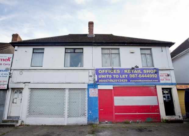The property at 12/14 Old County Road, one of the overcrowded premises featured on the Prime Time Special Investigations Unit, which housed 40 tenants across 10 bedrooms. Photograph: Tom Honan