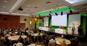 The Citizens' Assembly in the Grand Hotel Malahide discussed climate change this weekend. Photograph: Tom Honan