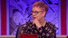 Jo Brand's explanation of sexual harassment to all-male panel goes viral