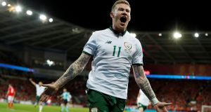 "McClean previously revealed that he has had death threats with many people viewing him as ""anti-British"".  Photograph: Reuters/John Sibley"