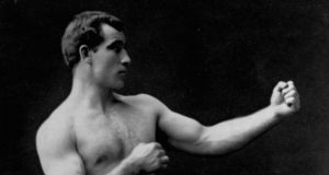 Pug's pug: Tom Sharkey  left Dundalk as a young man to join the merchant ships; he started to box after joining the US navy. Photograph: Library of Congress/Corbis/VCG via Getty