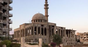 A mosque in al-Waer, Homs. Photograph: Michael Jansen