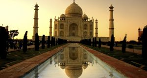 Sunset at the Taj Mahal, which attracts millions of visitors every year. Photograph: Wong Yuliang/istockphoto.com