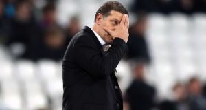 West Ham United are in search of a new manager after Slaven Bilic's departure. Photograph: PA