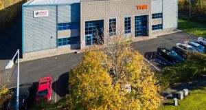 The warehouse and distribution facilities in Furry Park Industrial Estate in Dublin 9 extend to 1,848sq m