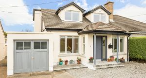 There is a garage to the side and plenty of off-street parking at 22 Ardagh Drive in Blackrock.