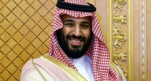 Saudi crown prince Mohammed bin Salman: The abrupt clampdown on corruption could exacerbate criticism of other risky policies he has adopted. Photograph:  Presidency Press Service/Pool Photo via AP