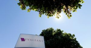 Valeant said it would hand the unit, known as Sprout Pharmaceuticals, back to some of its former owners without charging an upfront fee.