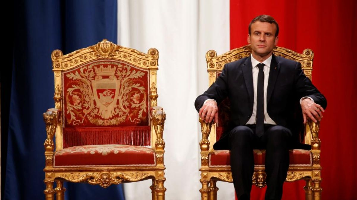 The French elect a president to be a king. Then they want to cut ...