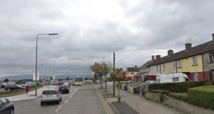 "Eight men have been  arrested following a ""serious public order incident"" between a large group of men at a pub on Cardiffsbridge Road (general view above) in Finglas  on October 19th. File photograph: Google Street View"