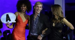 Denis Shapovalov of Canada attends the Next Gen ATP Final draw ceremony during the NextGen ATP Finals Launch Party Milan, Italy. Photo: Emilio Andreoli/Getty Images
