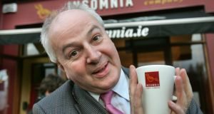 Bobby Kerr, chief executive of Insomnia: 'There's never going to be a huge market for the reusable cup.' Photograph: Matt Kavanagh