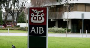 AIB has been caught up in the controversy around offshore tax avoidance by wealthy customers following the leaking of the Paradise Papers. Photograph:  Cyril Byrne