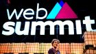 Paddy Cosgrave, Web Summit co-founder and chief executive: 'Tech is turning upside down everything we thought certain'. Photograph:  AFP/Getty Images