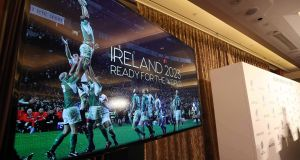 World Rugby seem very reluctant to switch from the norm and take a chance on a bid, like they would be doing with Ireland. Photo: Inpho