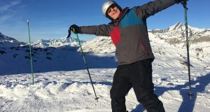 "Conor Pope in Val d'Isère: ""I start barrelling down the final slope on my final day in the French Alps in a style and manner which –I presume – makes me look the spit of James Bond fleeing baddies and try to banish the unwelcome thoughts of crunching teeth."""