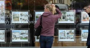 It's not just Irish renters who are struggling to get on the property ladder. Nearly half of Europeans who do not own their own home have given up hope of ever doing so, a survey showed on Tuesday. Photograph: Dan Kitwood/Getty Images