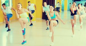 Zumba features movements inspired by various styles of Latin American dance